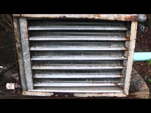 Air Conditioning clean and check HVAC Part 2: Evaporator Cleaning Air Handler