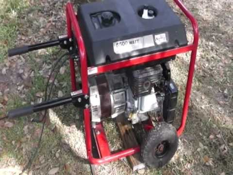 How to Start a Portable Generator,Estimating KWs and a Few Other Things.