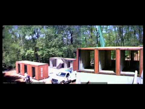 """The Quik House"" – A Time Lapsed Installation Of A Shipping Container Home by Adam Kalkin"