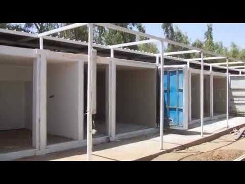 The Shipping Container Medical Compound for the Salam Center Khartoum, Sudan
