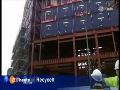 The Travelodge Shipping Container Hotel — Uxbridge, UK.