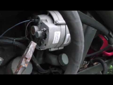 This Old Tractor:  Episode 1 Alternator Hook Up