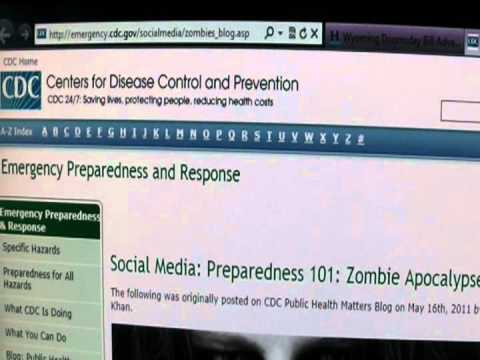 Wyoming Doomsday Legislation and the CDC Zombie Apocalypse